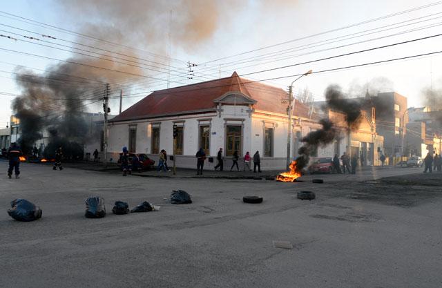 El edificio de la municipalidad de Río Gallegos - Foto: OPI Santa Cruz/Francisco Muñoz