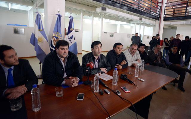 El Intendente Grasso eleva la tensión: denuncia al SOEM por privación ilegítima de la libertad y el descuento por daños