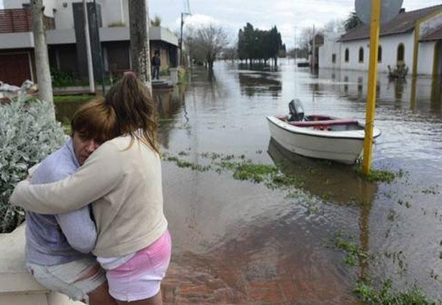 Una semana bajo el agua: hay 6 distritos inundados y más de 20 mil afectados