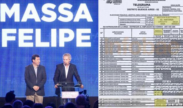 Felipe Solá pedirá que abran las urnas donde sospecha que le robaron votos