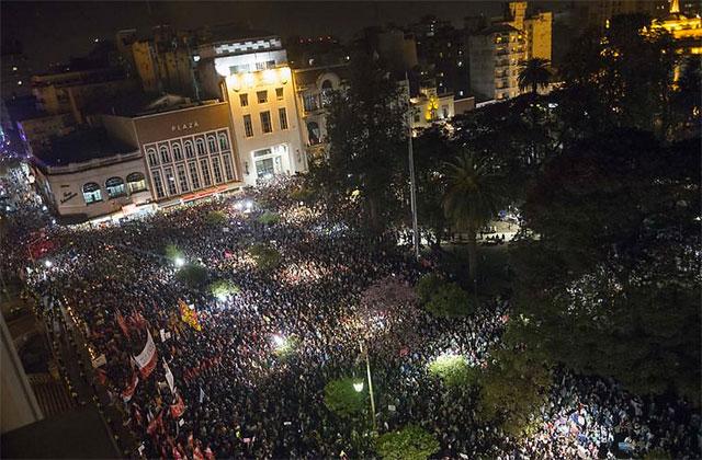 Unánime condena por la represión en Tucumán y denuncia opositora de fraude