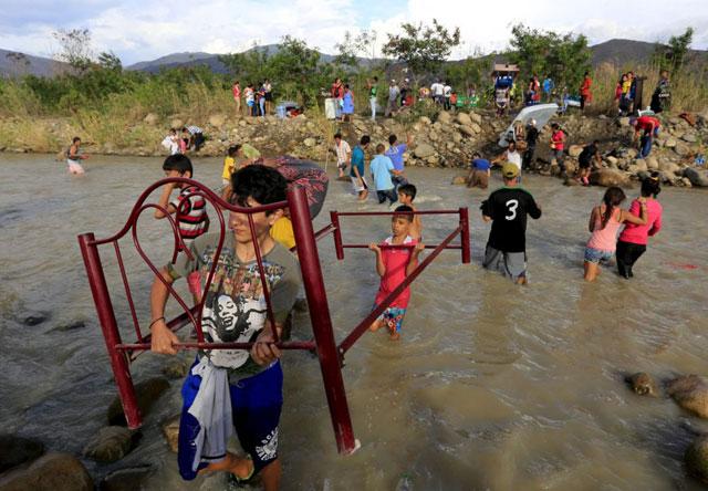 Ultimátum de Maduro en la frontera: dio sólo 72 horas para desalojar La Invasión