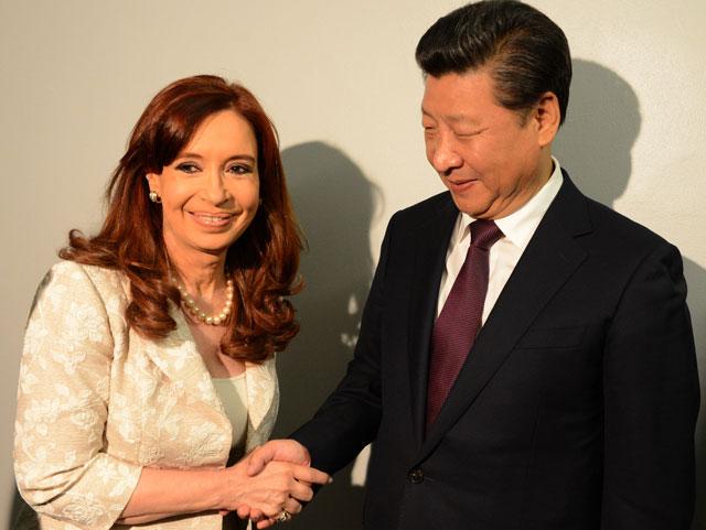 La Presidenta profundizó en Nueva York su alianza con China y Venezuela