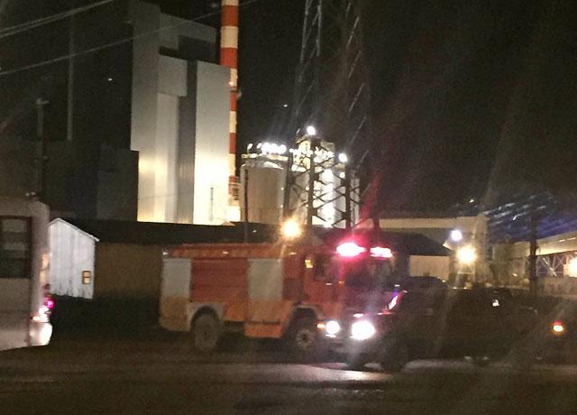 El sábado  a la noche se produjo un incendio en la Termousina de Río Turbio