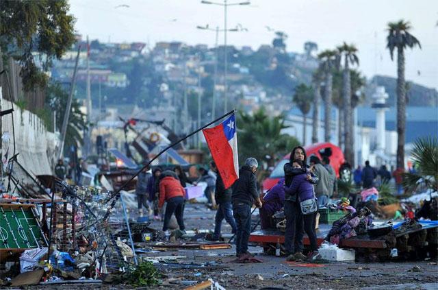 Vuelta a la normalidad en Chile tras el sismo que dejó 11 muertos