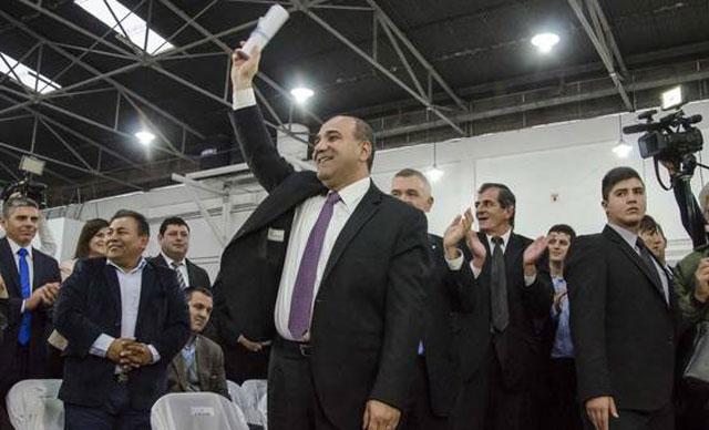 Manzur recibió el diploma de gobernador y habló de pacificar a Tucumán