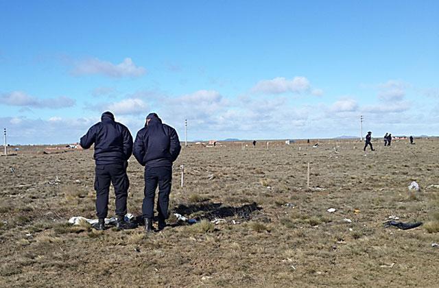 Encontraron restos de una persona descuartizada en Río Gallegos - Foto: Agencia ANA