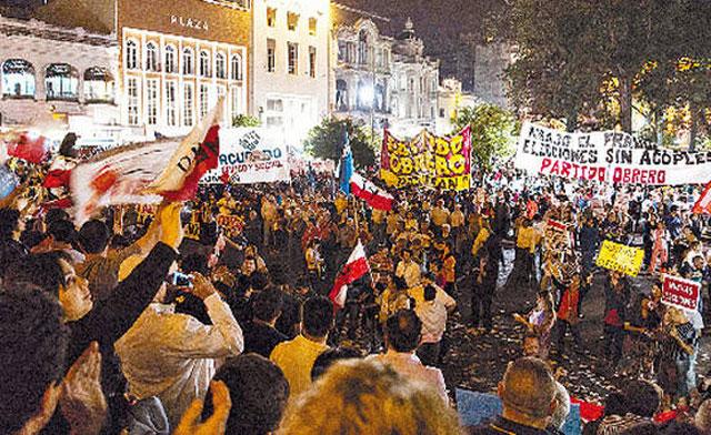 Una marcha que unió reclamos políticos con los del campo