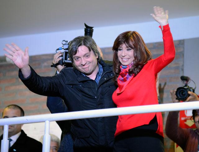 Pasó el acto de Cristina por la UTN y la Cadena Familiar, con las que impulsa a su hijo, a la nuera y la cuñada