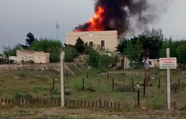 Se incendió la Cámara Criminal de Río Gallegos