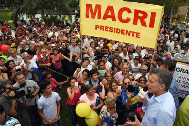 """Macri en Formosa: """"La campaña del miedo se les está yendo de las manos"""""""