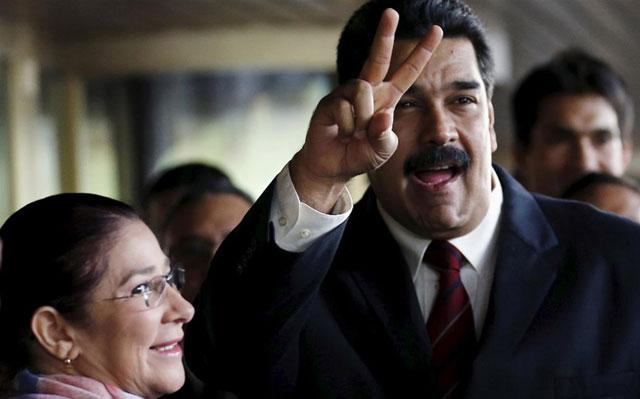 En pleno escándalo, Maduro acusa a EE.UU. del arresto de sus sobrinos