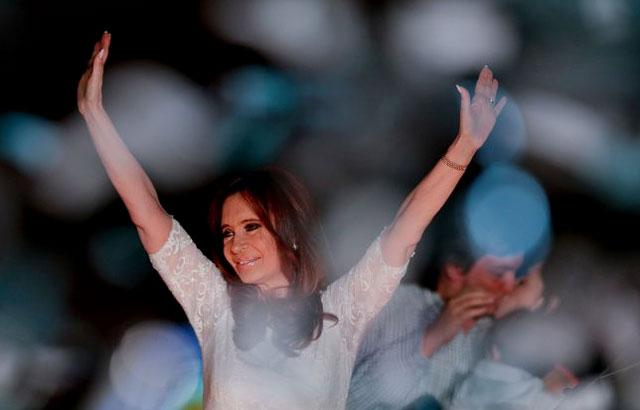 "Cristina:""En mi vida pensé que iba a ver un Presidente cautelar en mi país"""