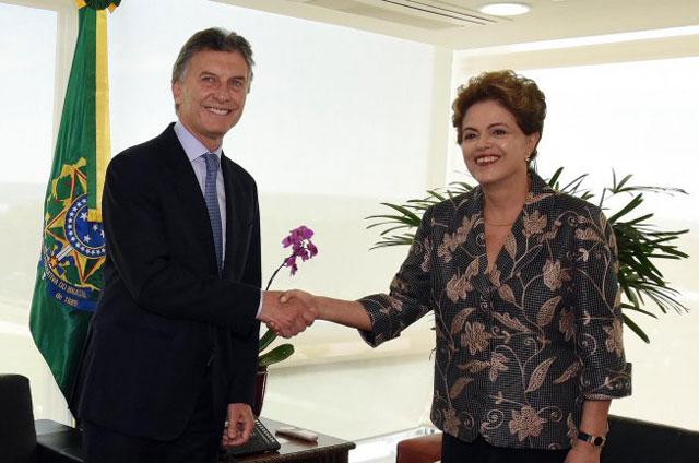 Tras el encuentro, Macri confirmó que Dilma Rousseff asistirá a la asunción y tendrán su primera reunión bilateral