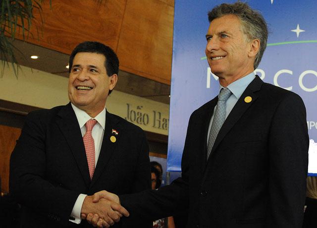 """Macri, en la cumbre del Mercosur: """"Pido por la pronta liberación de los presos políticos en Venezuela"""""""