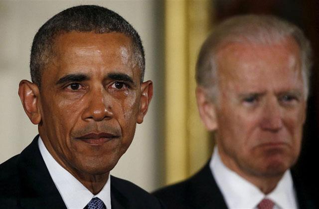 Emocionado, Obama clamó por la urgencia en el control de armas