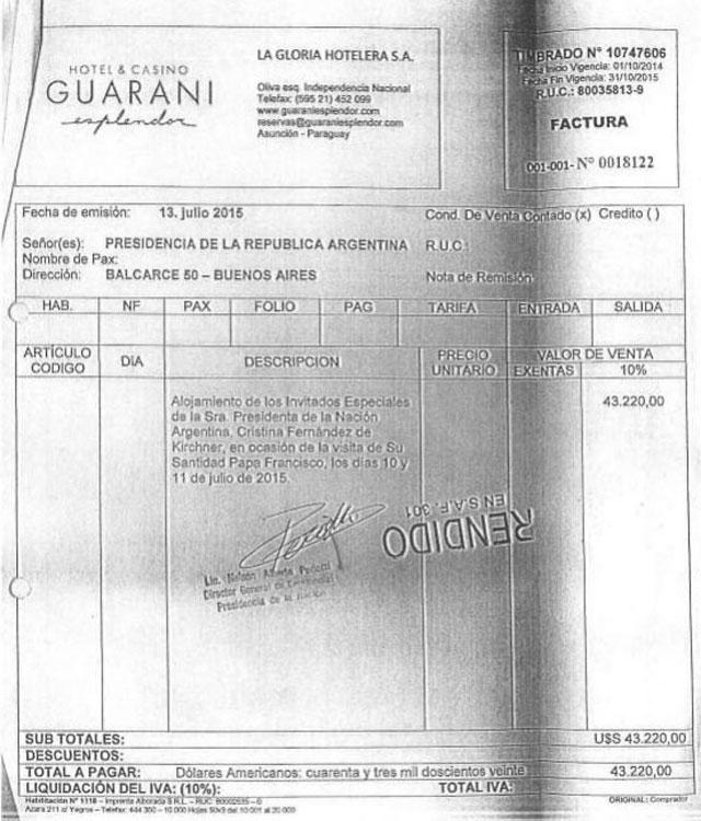 Descubren un fraude con los viajes de Cristina al exterior