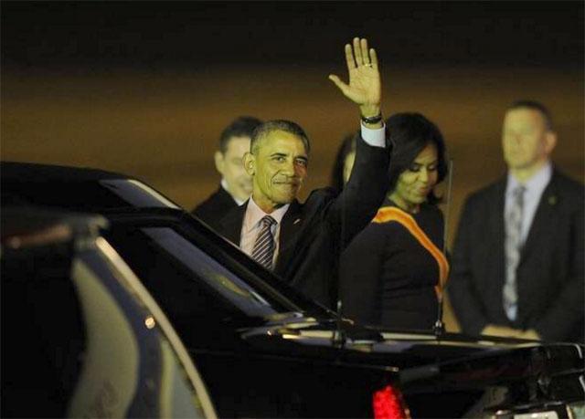 Obama llegó anoche: se reúne hoy con Macri y abren una nueva etapa