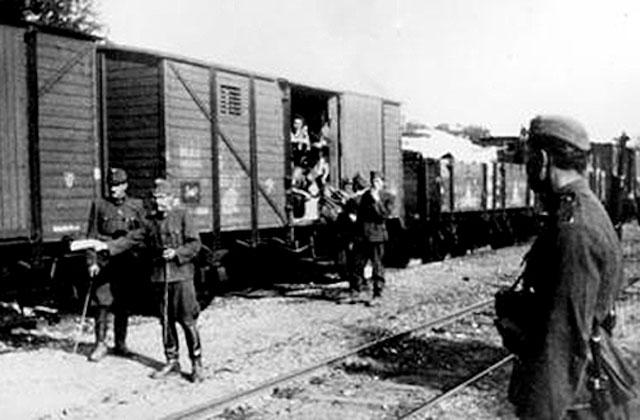 Para Víctor Hugo esto es un tren lleno de gente