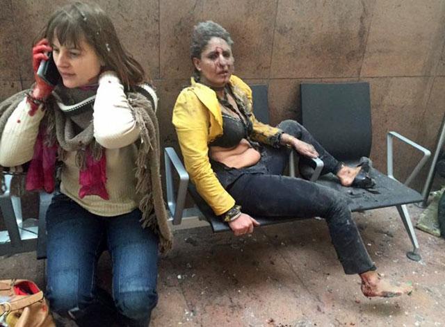 Atentados suicidas sacudieron la ciudad de Bruselas: decenas de muertos y heridos