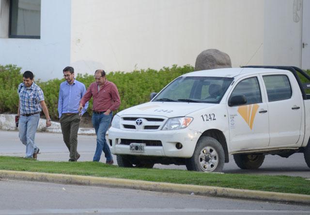 Las oficinas de Oil M&S fueron allanadas en Comodoro Rivadavia – Foto: OPI Santa Cruz/Francisco Muñoz