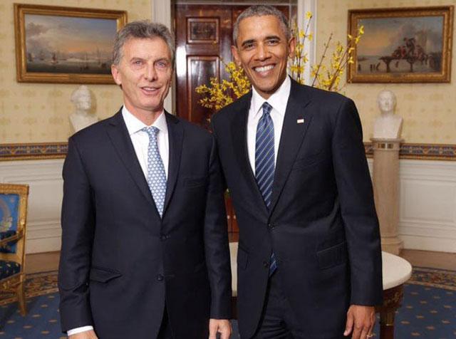 Macri se reencontró con Barack Obama, esta vez en la Casa Blanca