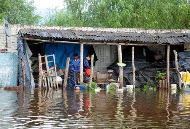 Inundaciones en el Litoral: seguirán las lluvias en las zonas afectadas