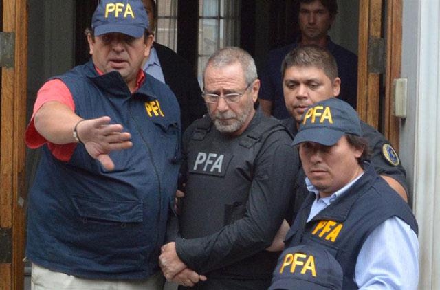 Ricardo Jaime declara ante Ercolini y podría quedar preso en la cárcel de Ezeiza