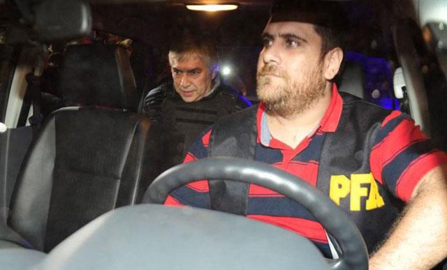 Lázaro Báez fue detenido en Buenos Aires