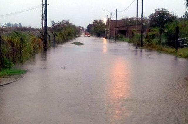 Hay cientos de evacuados en el norte de Entre Ríos por las inundaciones