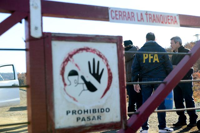 La justicia hizo tres allanamientos en la localidad de 28 de Noviembre y uno en El Chaltén