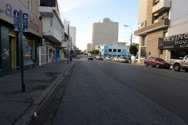 En la ciudad de Comodoro Rivadavia Chubut se nota el paro de varios gremios – Foto: OPI Santa Cruz/Francisco Muñoz