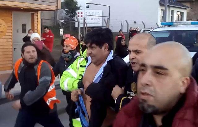 Sindicalistas detenidos en Ushuaia quedaron en libertad