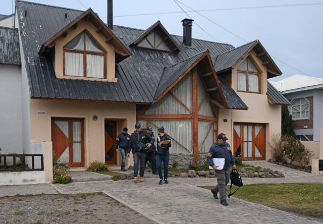 Terminaron los allanamientos en Río Gallegos. Dos propiedades alquiladas y sin material secuestrado