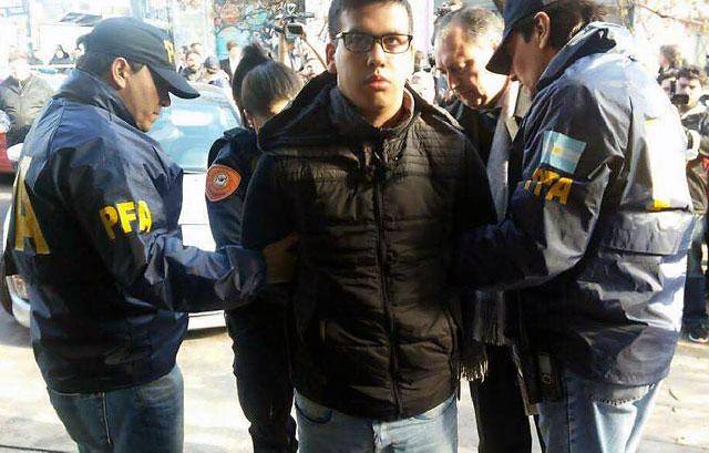 """Detuvieron a Monchi Cantero, líder de """"Los Monos"""""""