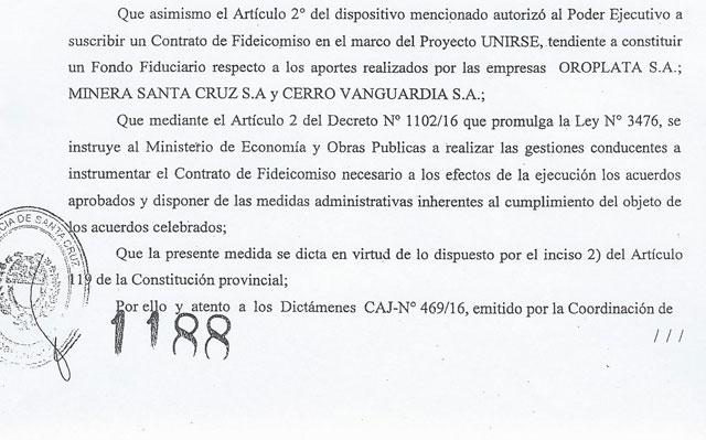 """Nueva jugada de Alicia Kirchner: manotea los fondos de Fomicruz y lo disfraza de """"Proyecto UNIRSE"""""""