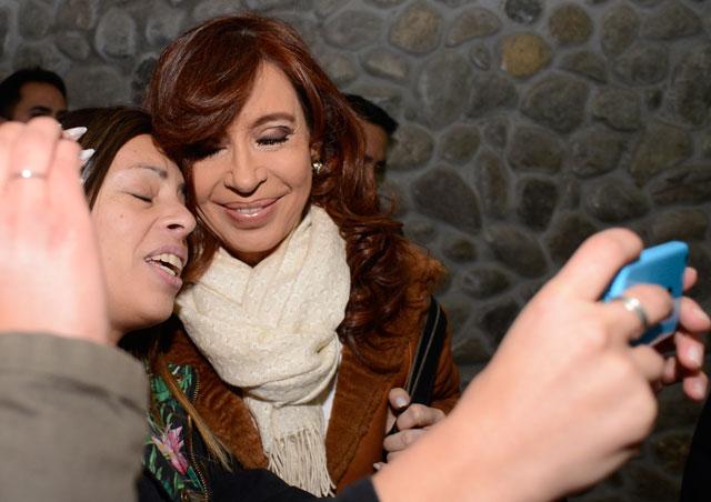 """Cristina Kirchner: """"No es una sensación térmica, es claro y evidente que estoy siendo perseguida"""""""