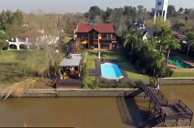 No cierran las cuentas de López: sólo su casa en Tigre cuesta U$S 680.000