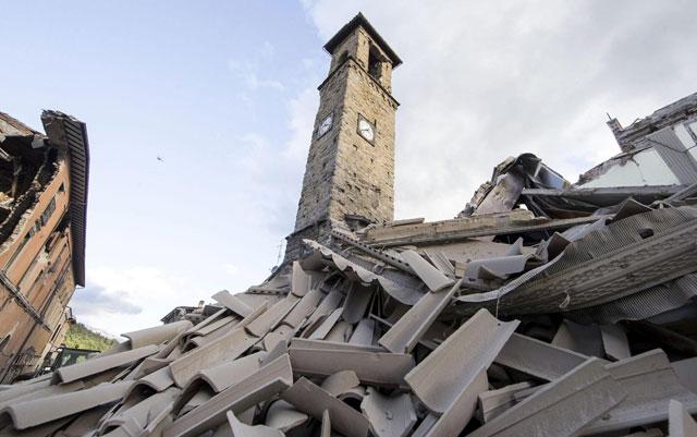 Fuerte terremoto golpeó el centro de Italia: al menos 63 muertos