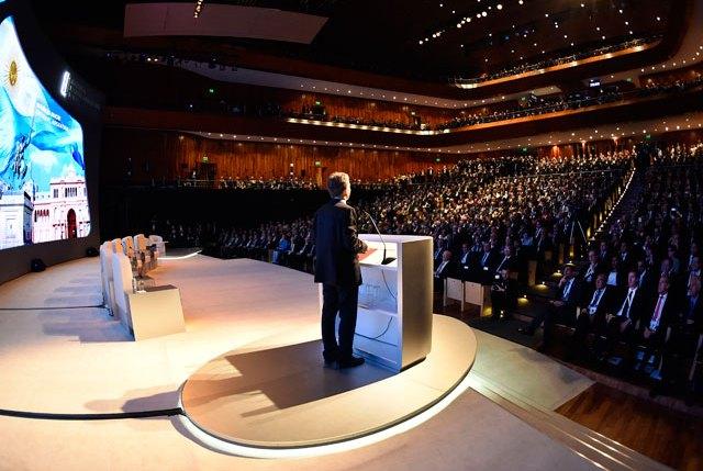 """Macri: """"Ahora el mundo observa lo valiosos que somos"""""""