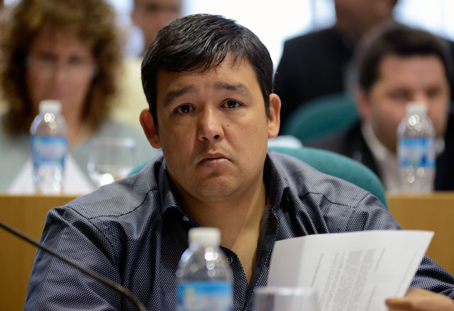 El Diputado Gerardo Terraz (UPVM-Caleta Olivia)