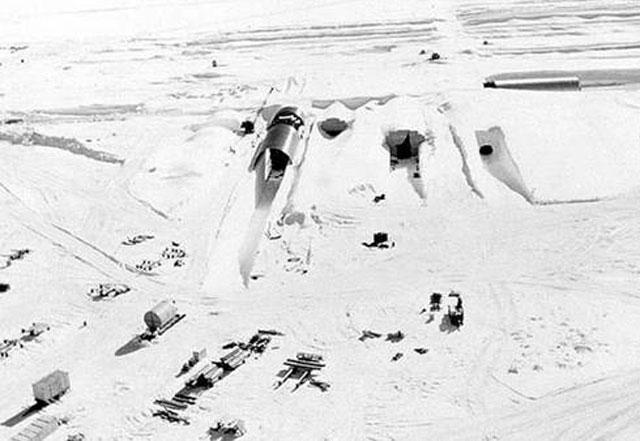 Por el cambio climático, emerge una base secreta de EE.UU. en Groenlandia
