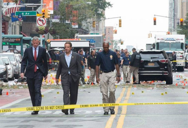 Afirman que las bombas de Nueva York y Nueva Jersey están conectadas