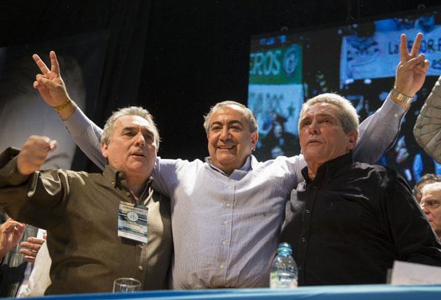 """Antes de la reunión, la CGT dijo que """"hasta ahora el Gobierno fue contrario a los intereses de los trabajadores"""""""