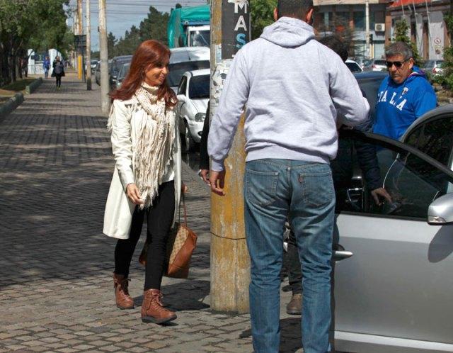CFK se presentó en el Juzgado Federal de Río Gallegos