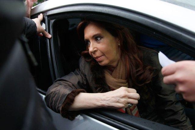 La ex presidenta de la nación Cristina Kirchner en el Juzgado Federal de Río Gallegos – Foto: OPI Santa Cruz
