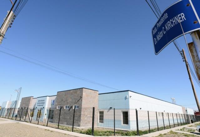 El Centro Articulador de Políticas Sanitarias en Río Gallegos hoy cerrado – Foto: OPI Santa Cruz/Francisco Muñoz