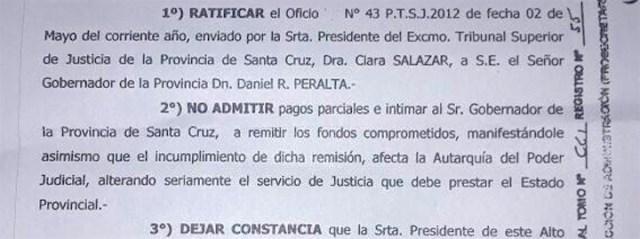 En el 2012 jueces del STJ intimaba al Ejecutivo por pago de haberes; hoy lo defienden