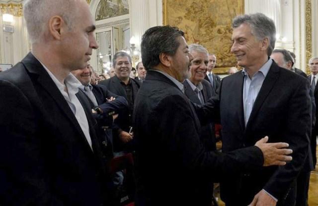 """Mauricio Macri: """"Voy a dar la batalla contra las mafias que están en los sindicatos, la política, las empresas y la Justicia"""""""