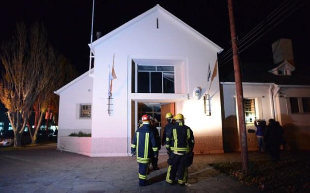 Se incendió una oficina del Tribunal de Cuentas. Casualidad o no, es la del Dr Stoesel